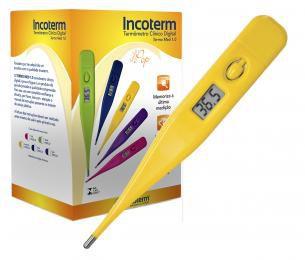 Termômetro Clínico Digital Termomed Incoterm - Amarelo