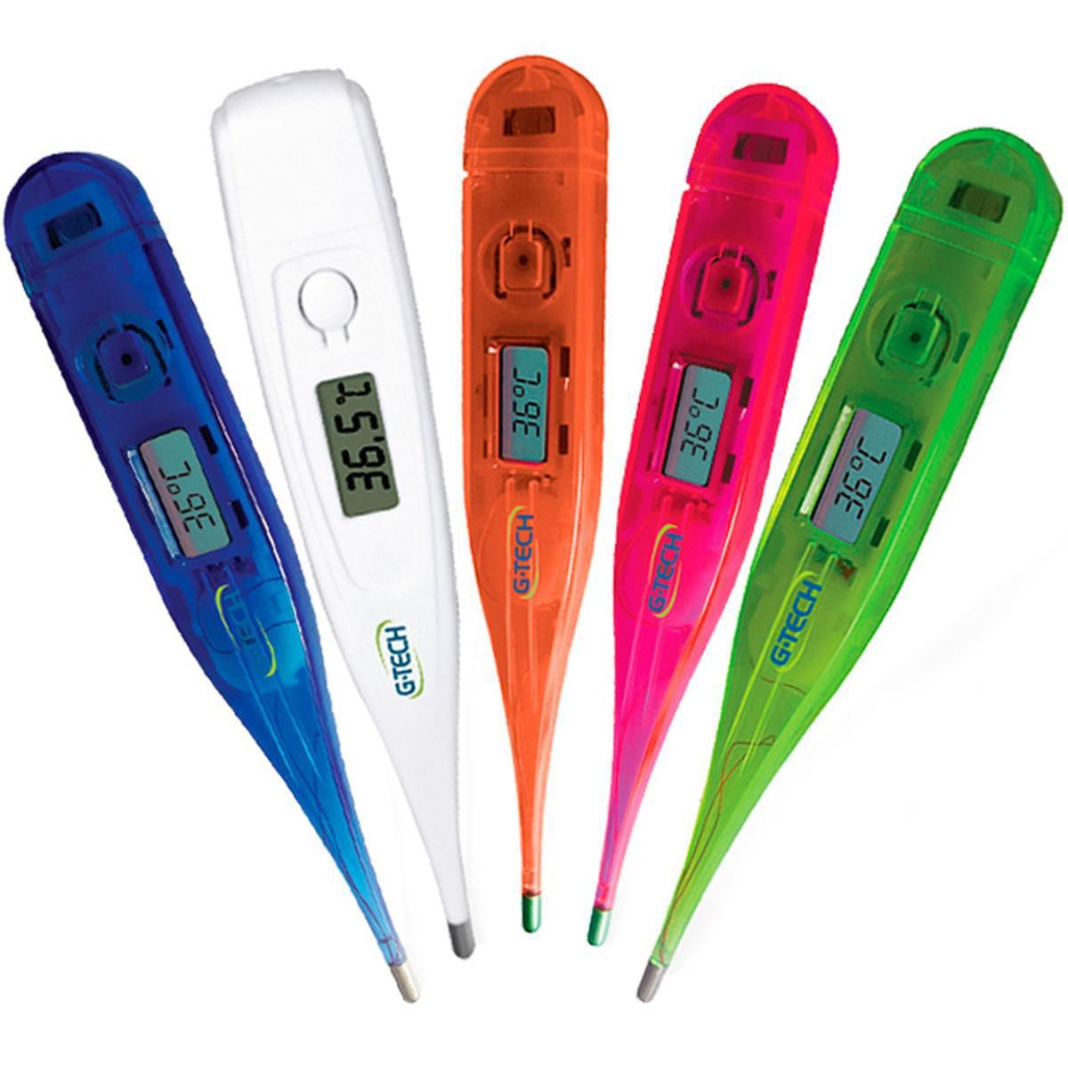 Termômetro digital iColor G-Tech - Branco