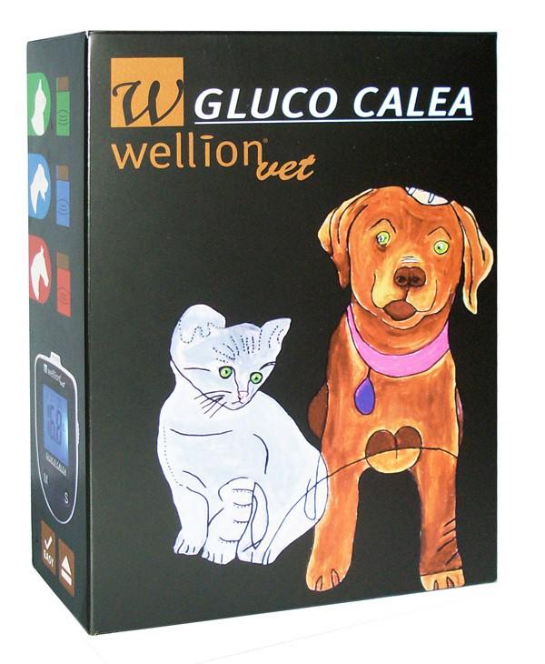 Kit Monitor de Glicemia Animal WellionVet® Gluco Calea
