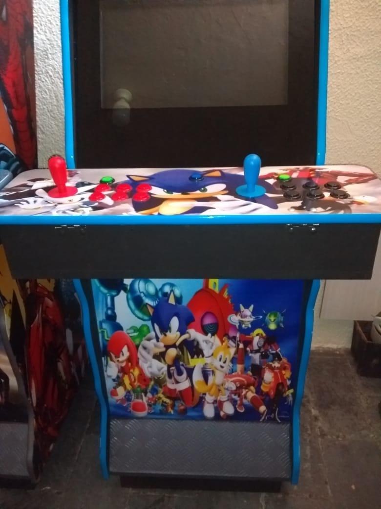 Fliperama Arcade Multijogos com ficheiro