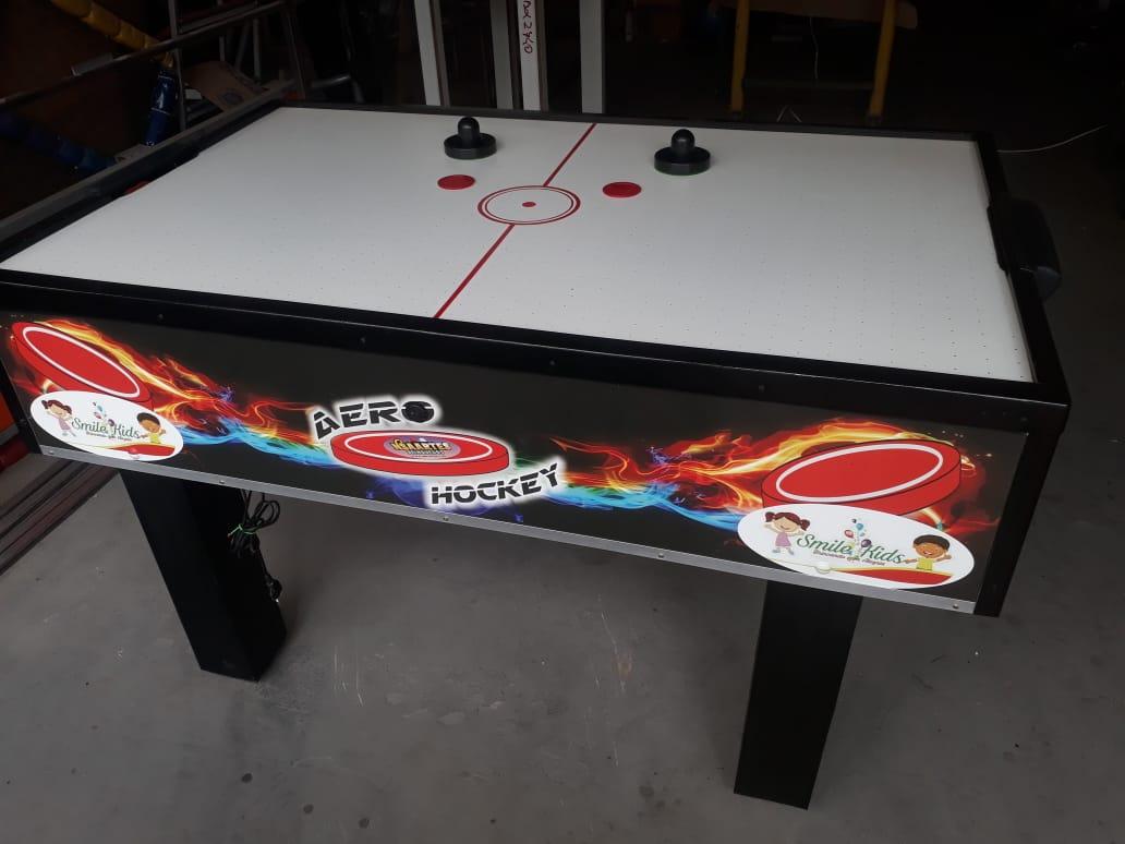 Mesa de Aero Hockey em MDF Pequena