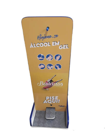 Totem álcool gel Personalizado