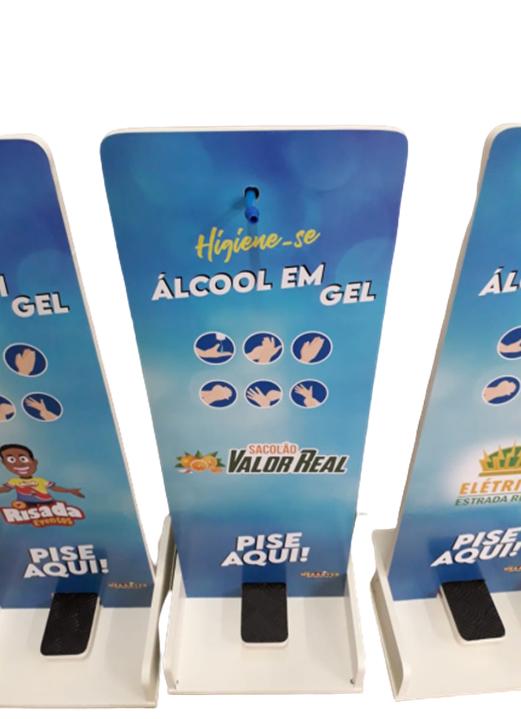 Toten Suporte Álcool Gel Pedal