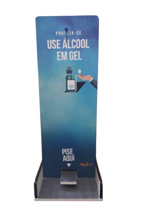 Toten Suporte Para Álcool Gel Pedal
