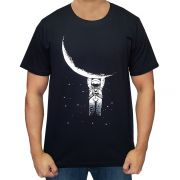 Camiseta Masculina Falling From the Moon