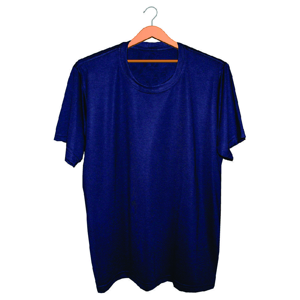 Camiseta Masculina Básica - Azul Marinho