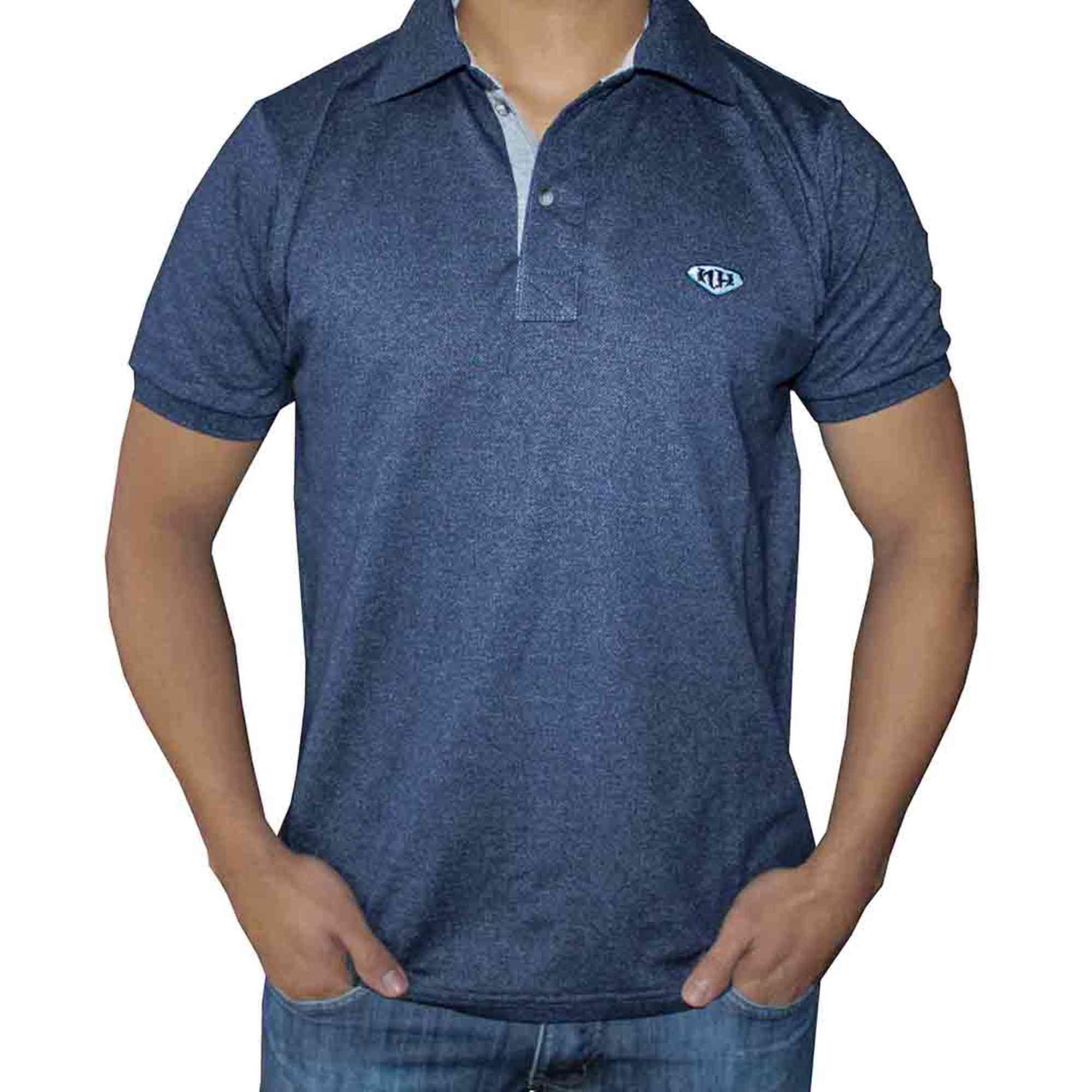 Camisa Polo Masculina NH - Azul