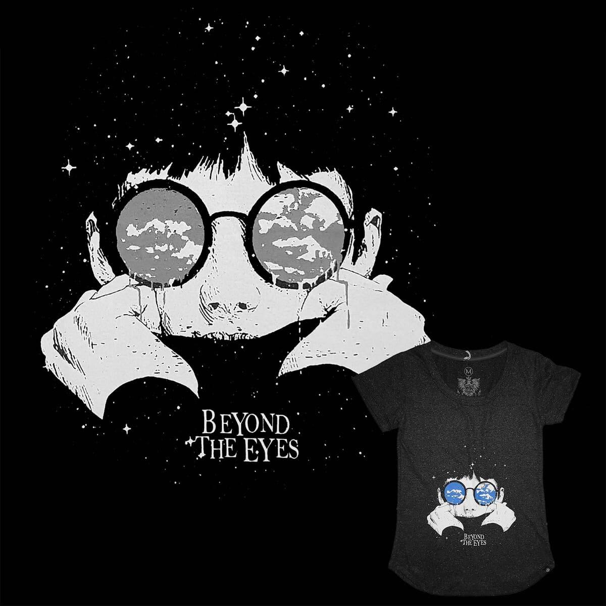 Camiseta Baby Look Feminina Beyond The Eyes