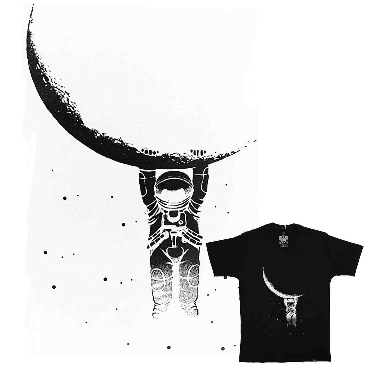 Camiseta Feminina Falling From the Moon