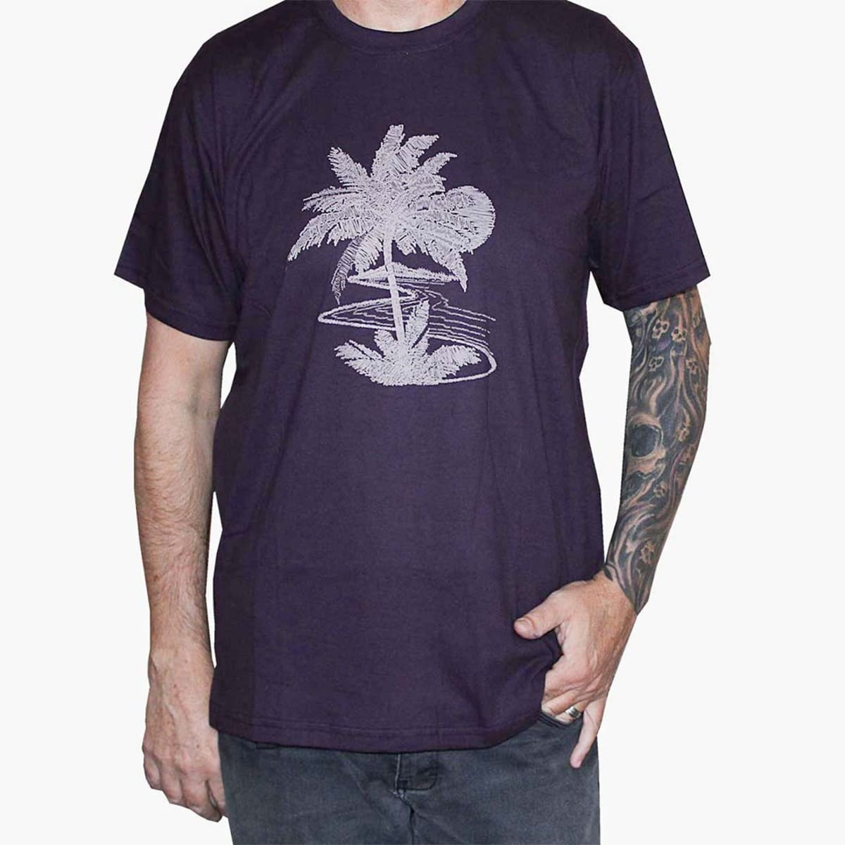 Camiseta Masculina Coqueiro