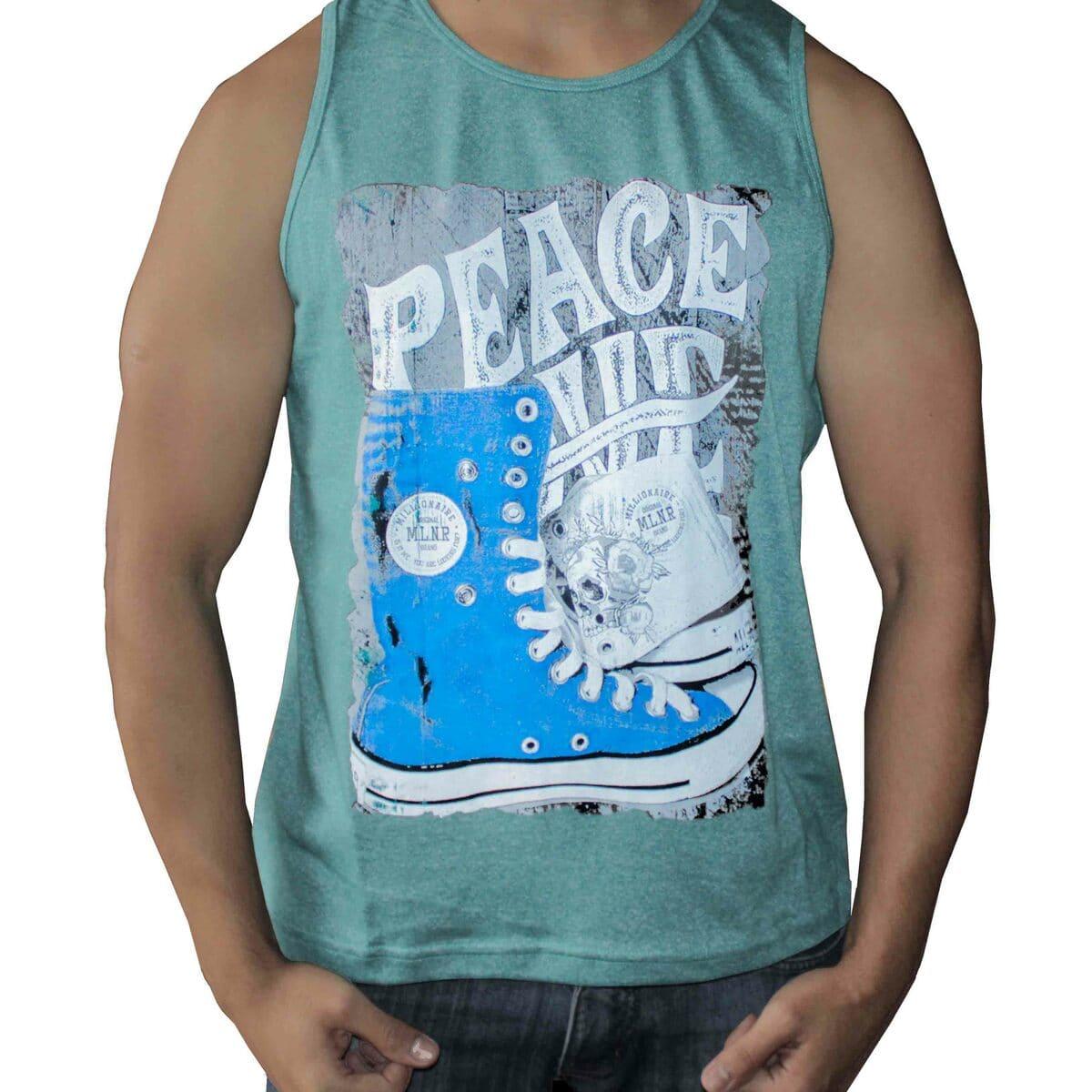 Camiseta Regata Masculina All Star Azul