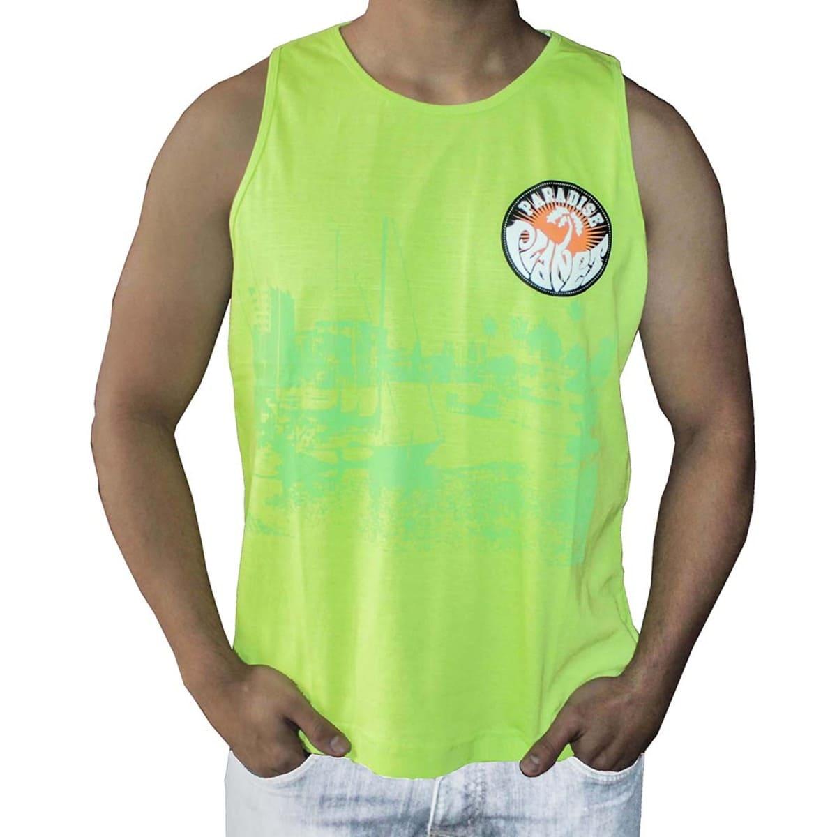 Camiseta Regata Masculina Paradise Planet