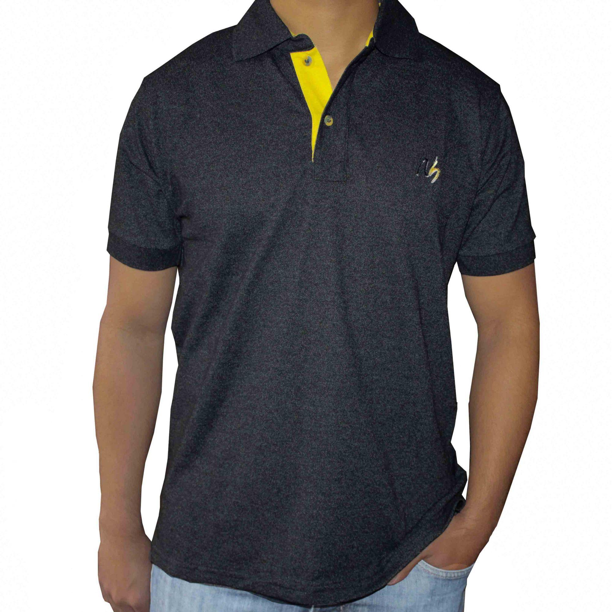Camisa Polo Masculina NH - Mostarda