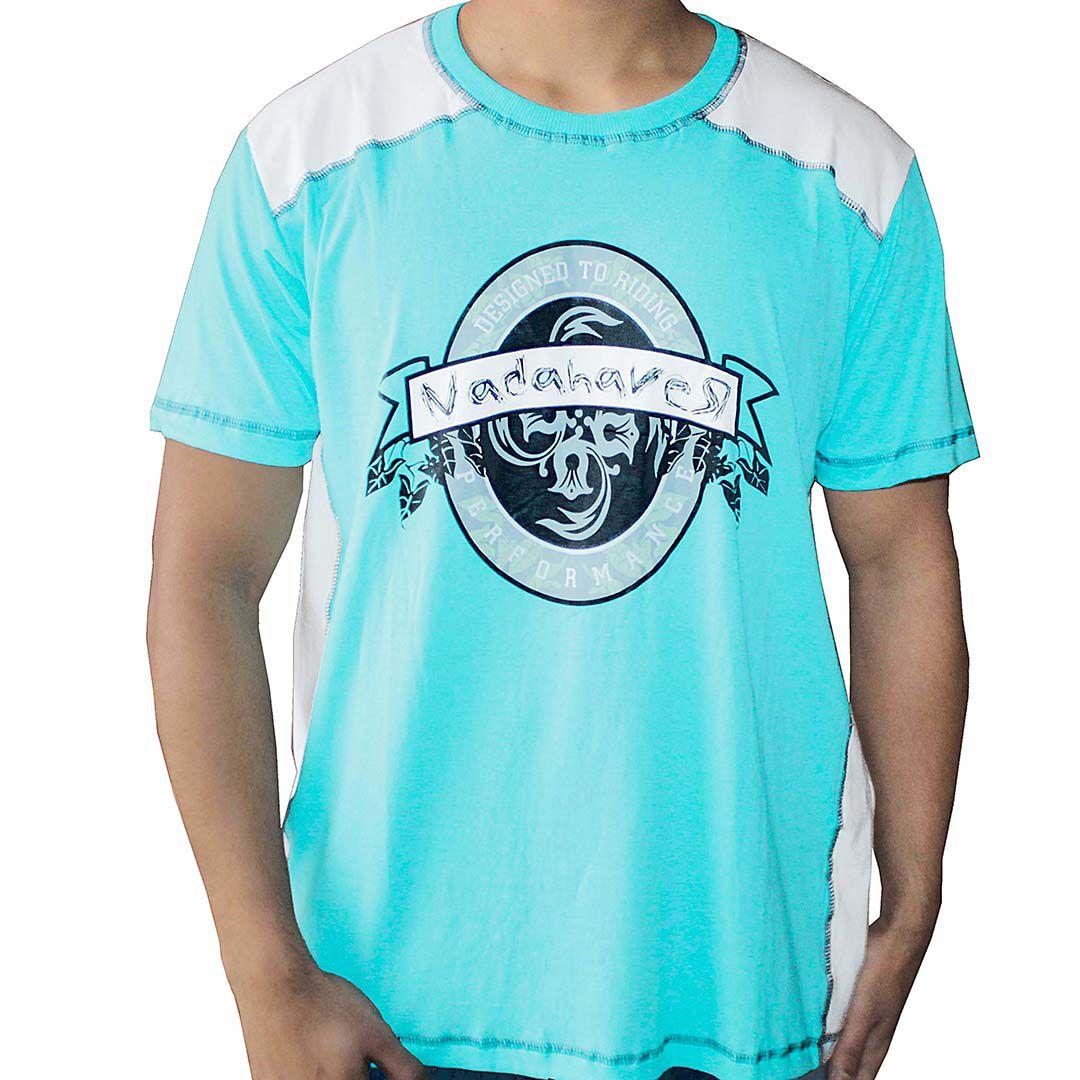 Camiseta Raglan NH - Branco e Verde