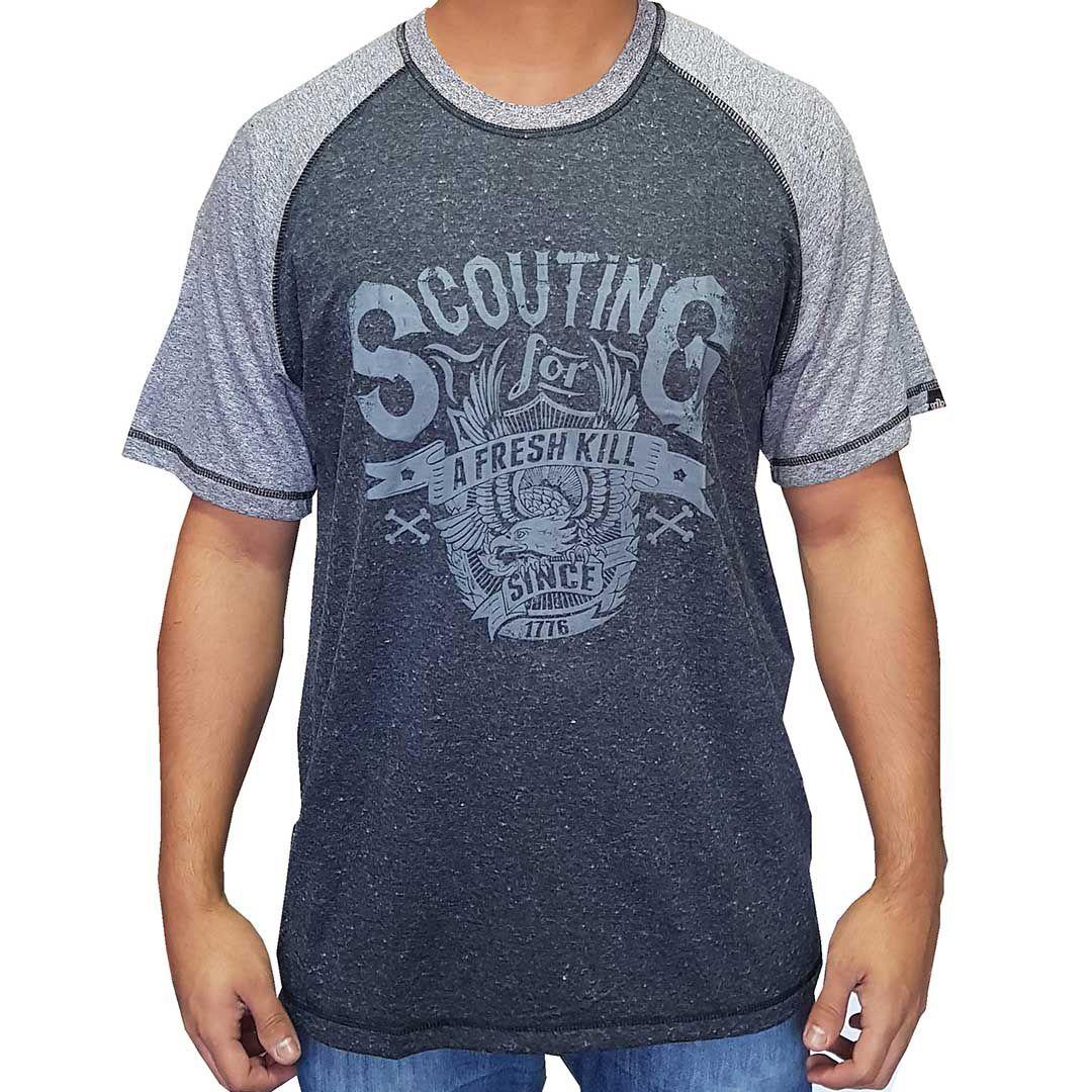 Camiseta Raglan Masculina NH - Scouting