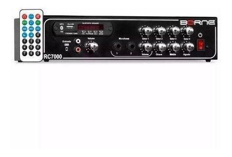 Amplificador Borne Rc7000 Ambiente Usb/sd/mmc E Fm