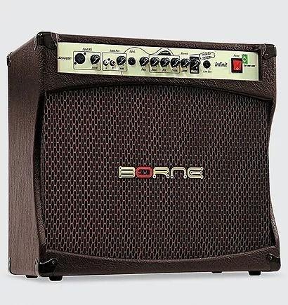 Amplificador Cubo Para Violão Infiniti Cv12100 100w Borne