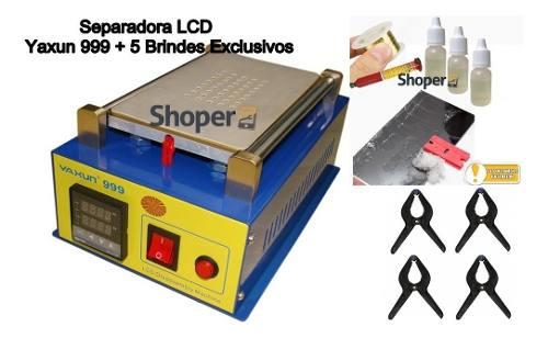Separadora De Lcd / Touch A Vácuo Yaxun 999 + 5 Insumos como Brinde