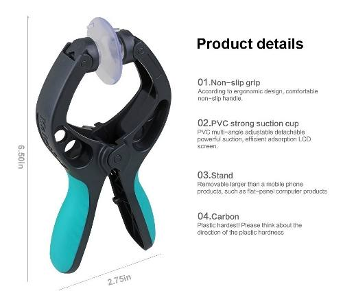 Alicate P Separar Lcd Touch + Kit De Ferramentas Auxiliares 8em1