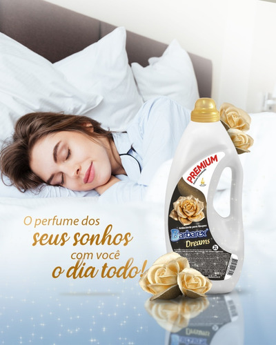2 Litros Amaciante Premium Dreams - Perfume Concentrado