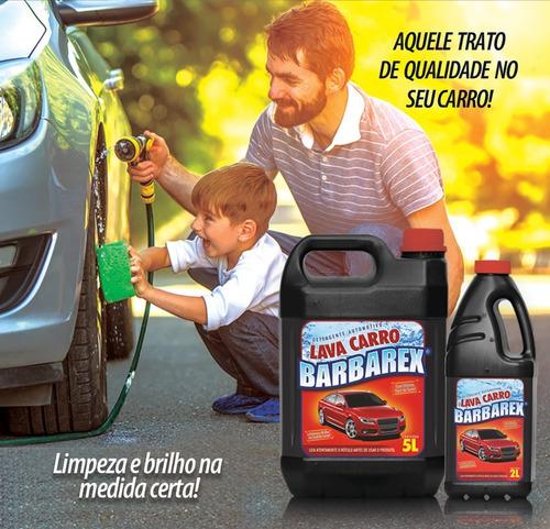 2 Litros Detergente Automotivo Shampoo Lava Carro C Silicone