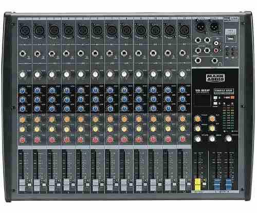 Mesa De Som Compacta Cmx12 Usb 12 Canais Mark Audio - Mixer