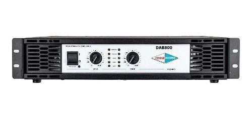 Amplificador De Potencia Dab800 860w Mea Audio Anúncio com variação