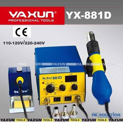 Kit Básico Maquinas Para Assistencia Técnica Nº3 Yaxun + Br