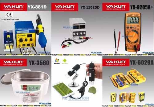 Kit Básico Para Assistência Técnica Nº4 Yaxun
