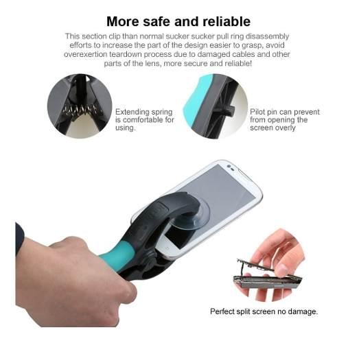 Kit Alicate P Separar Lcd Touch + Molde Universal Para Troca De Touch Kaisi K1218