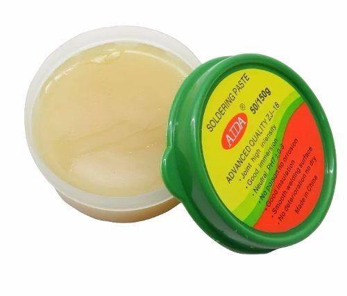 Promoção Par Estanho Yaxun 0.4mm + Pasta De Solda Yaxun