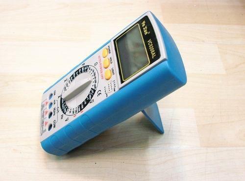 Multimetro Yaxun  yx 9208 AL C/ Termopar 1000ºc + Capacimetro + Completo