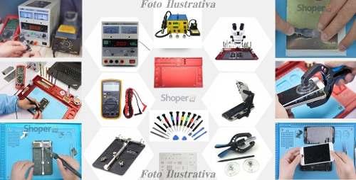 Kit Bancada Profissional Conserto Celular Informati 24 Itens