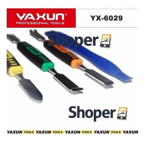 Jogo de Espátulas + Chaves + Pinça Yaxun YX-6029D - Espátulas de Alto Desempenho
