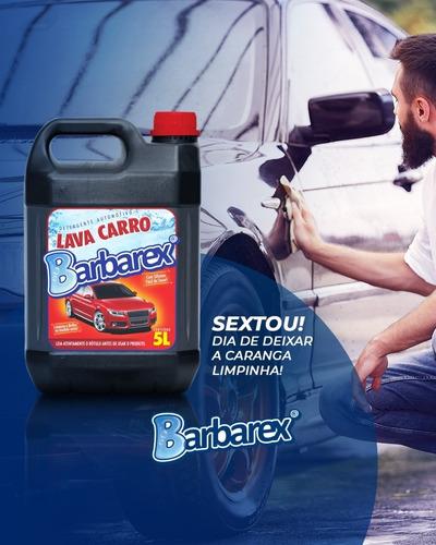 5 Litros Detergente Automotivo Shampoo Lava Carro C Silicone