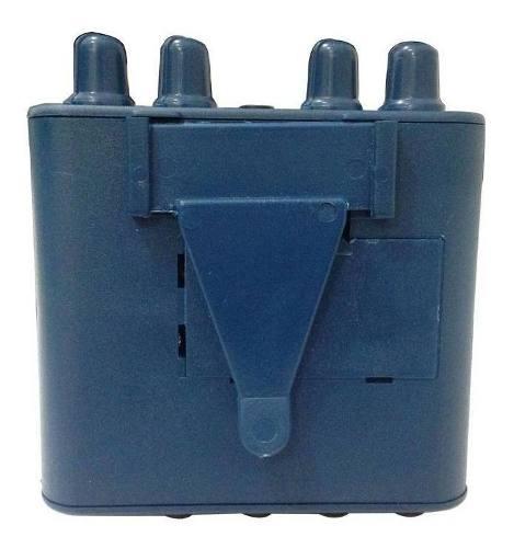 Amplificador De Fone De Ouvido Color Azul - Power Click