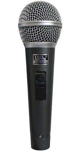 Microfone De Mão Vocal Ba58s Jwl