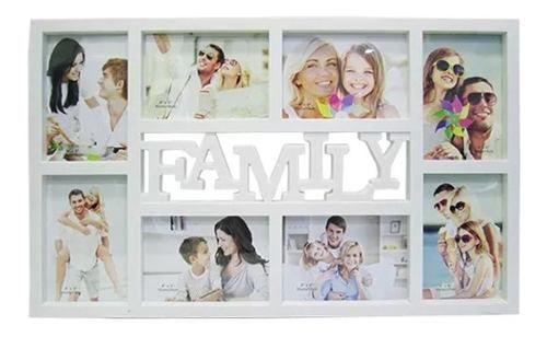 Kit 2 Porta Retratos - Extra Luxo Family Para Até 8 Fotos +