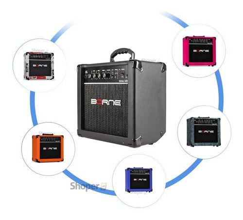 Amplificador Cubo Para Guitarra Strike G30 15w Borne Diversas Cores