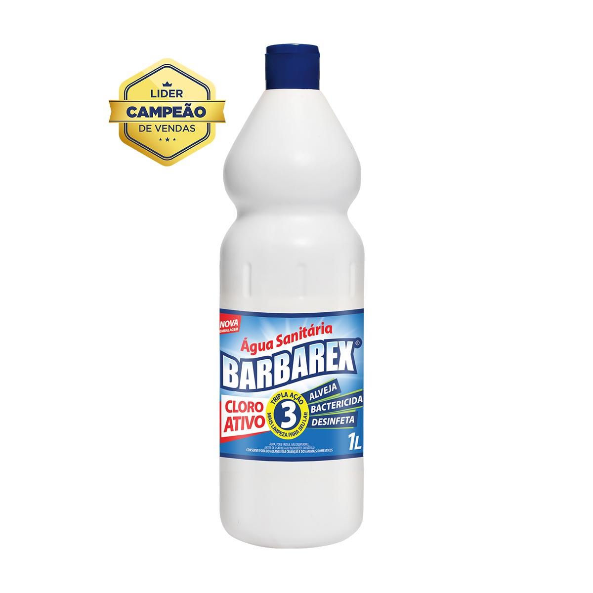 Água Sanitária 1 Litro Barbarex