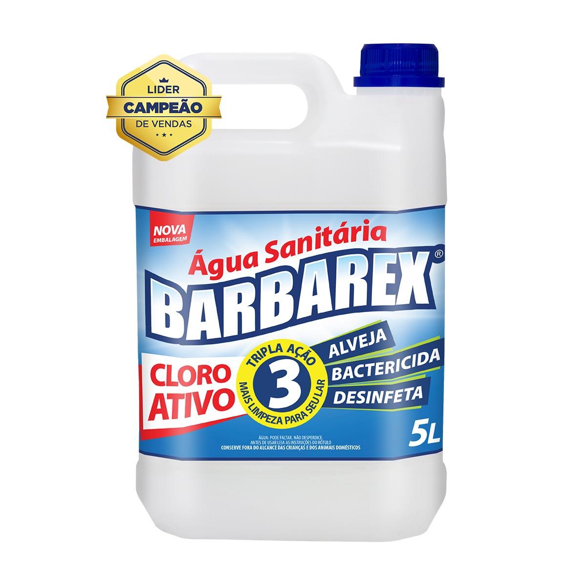Água Sanitária 5 Litros Barbarex