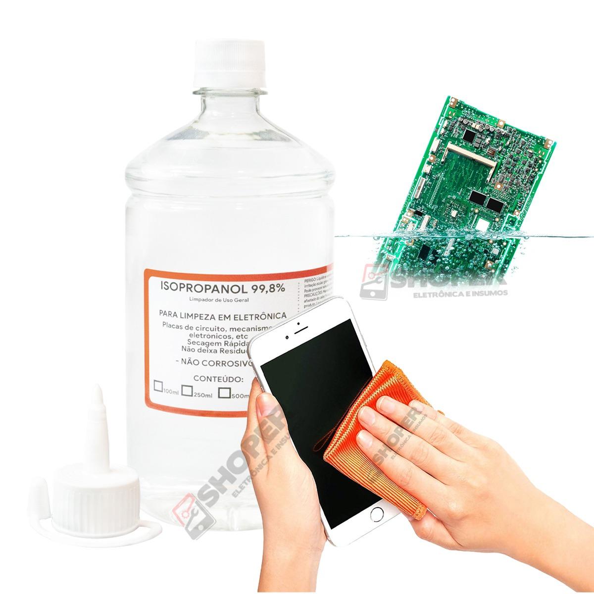 Álcool Isopropílico Puro 99,8%  RHODIA - P Limpeza Em Geral - Envasado