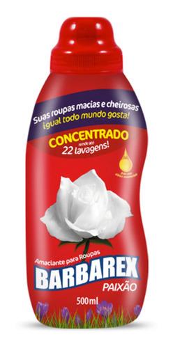 Amaciante Concentrado Paixão / Blue 500ml Rende 22 Lavagens