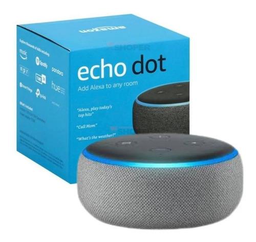 Amazon Echo Dot 3 Geração Assistente Virtual Alexa Wifi