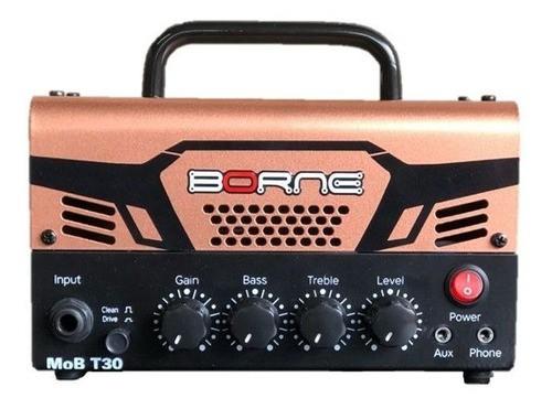 Amplificador Cabeçote Guitarra Mob T30 30w Borne Diversas Cores
