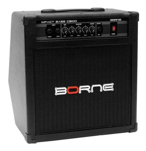 Amplificador Cubo Para Baixo Impact Cb100 70w Borne