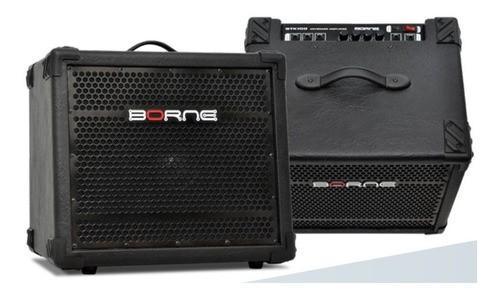 Amplificador Cubo Para Teclado Btk100 100w Borne
