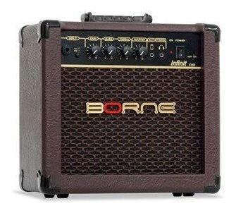 Amplificador Cubo Para Violão Infiniti Cv60 15w Borne