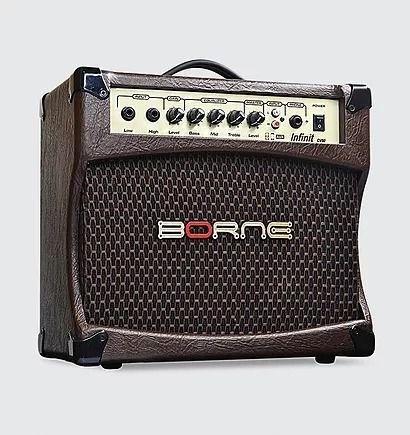 Amplificador Cubo Para Violão Infiniti Cv80 30w Borne