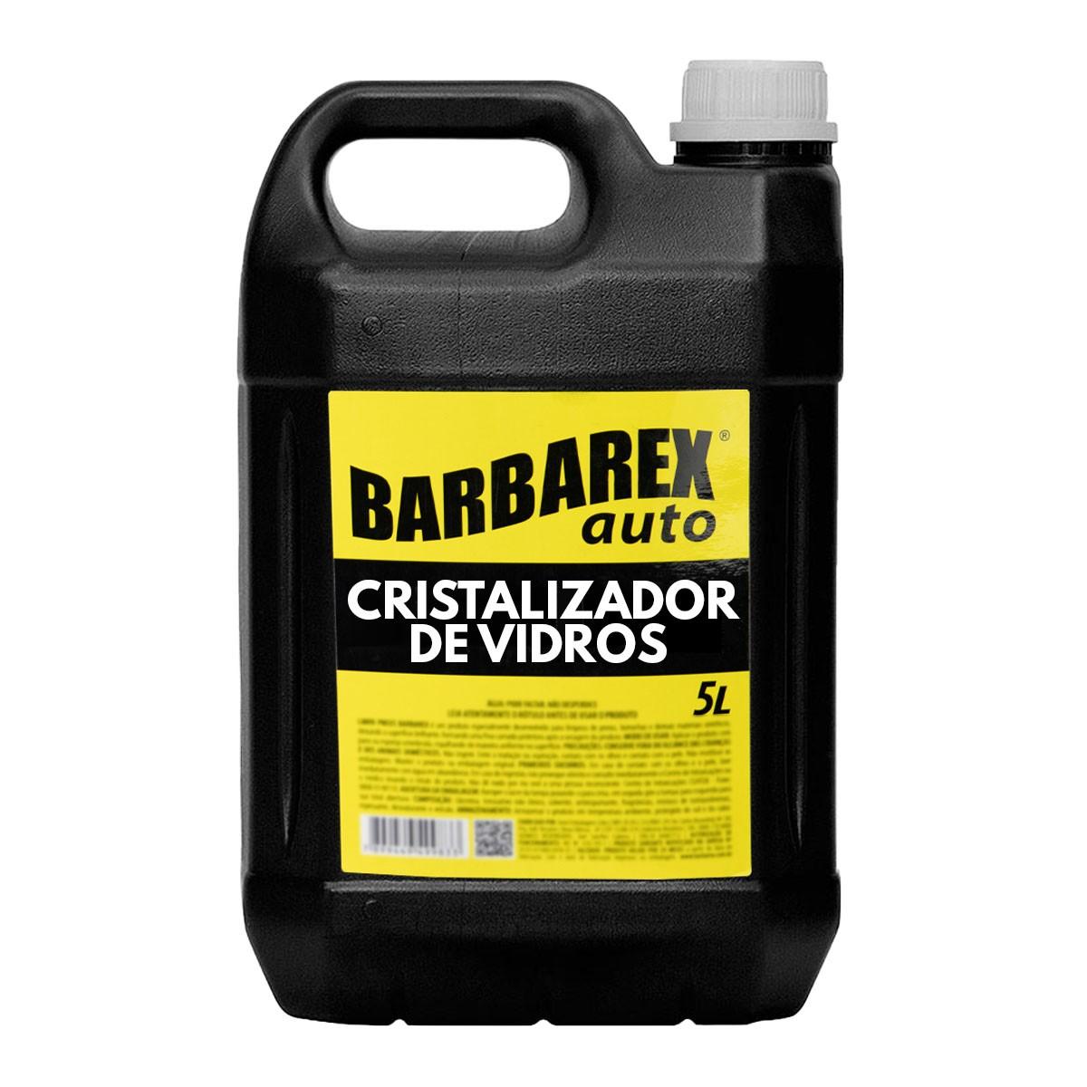 Barbarex Auto Cristalizador de Vidros 5 Litros